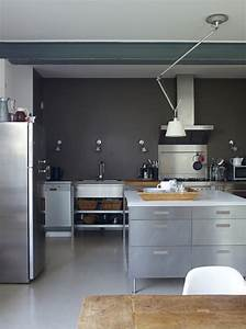 Kitchen ideas grey walls light grey paint colors grey for Kitchen colors with white cabinets with steve mcqueen wall art