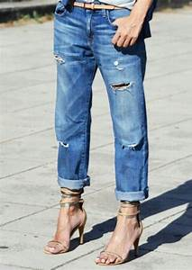 Boyfriend jeans and strappy heels.   My Style   Pinterest
