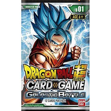 dragon ball  galactic battle booster pack trading card