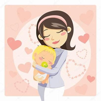 Caring Mother Illustration Vector Depositphotos Care Kakigori