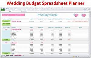 Wedding planner budget template excel spreadsheet wedding for What is a good budget for a wedding