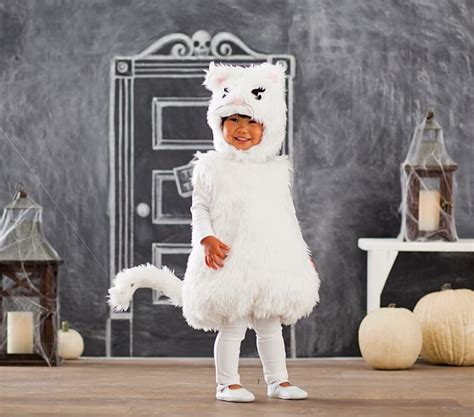 pottery barn costumes toddler white kitty costume pottery barn