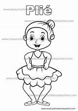 Dance Colouring Preschool Coloring Ballet Printables Class Value Pack Sheets Teachers Ballerina Positions Teacher Enable Javascript Browser Form Complete Resources sketch template