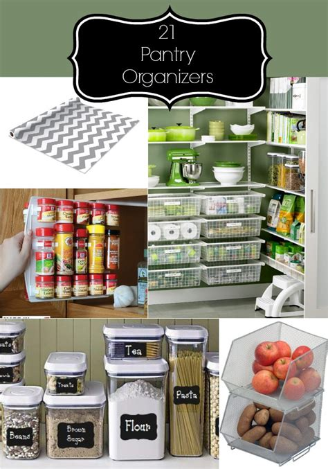 kitchen storage and organization products 21 items for an organized pantry home stories a to z 8608