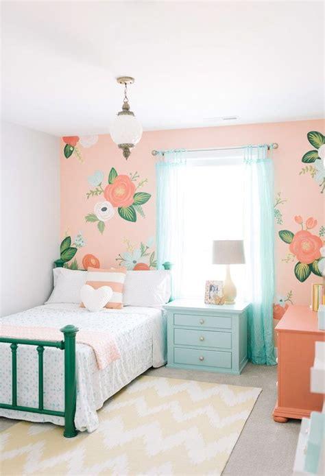 peinture de chambre fille peinture chambre fille et blanc