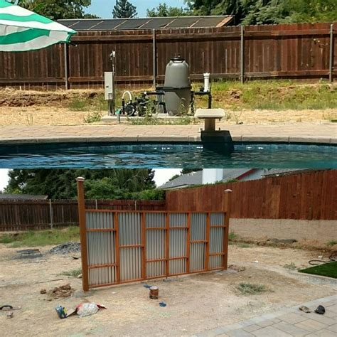 landscaping ideas to hide pool equipment easy and cheap way to hide pool equipment before and after poolside plants and landscaping