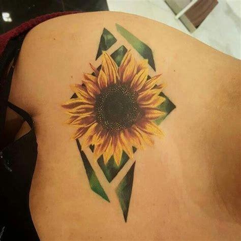 magnificent sunflower tattoos crazyforus