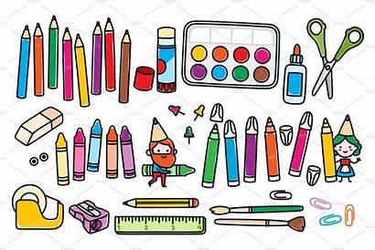 Crafts Craft Clipart Arts Supplies Clip Project