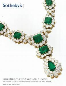 IH Sotheby's Magnificent Jewels and Noble Jewels including ...