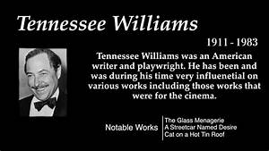 Tennessee Williams - Top 10 Quotes - YouTube