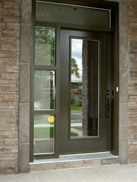 Special Glass Front Door Privacy Front Door And Sidelight