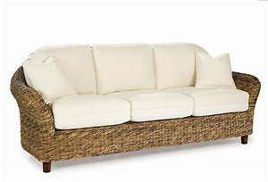wicker sofa sleeper wicker sofa bed rattan furniture selv With wicker futon sofa bed