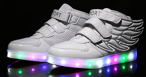 led light shoes for kid children shoes with light up sneakers for luminous