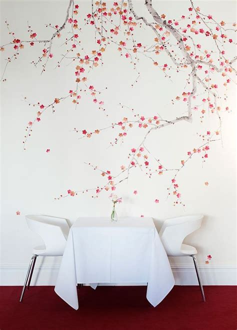 beauty  cherry blossom wallpaper home hand