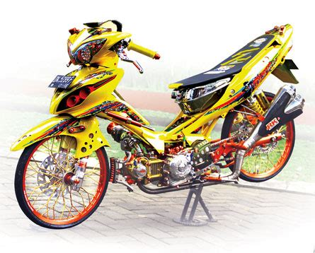 Jupiter Z Thailook by Yamaha Jupiter Z 08 Malang Biang Trend Titisan Otre