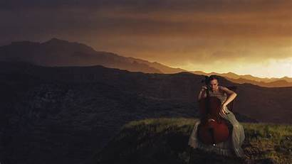 Cello Landscape Desktop Background Wallpapers Nature Backgrounds
