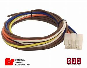 Federal Signal Pa300 10 Pin Wiring Cable Kit Rear