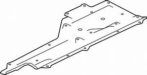 Jaguar Xe Side Shield  Undertray  3 0 Liter  From Vin