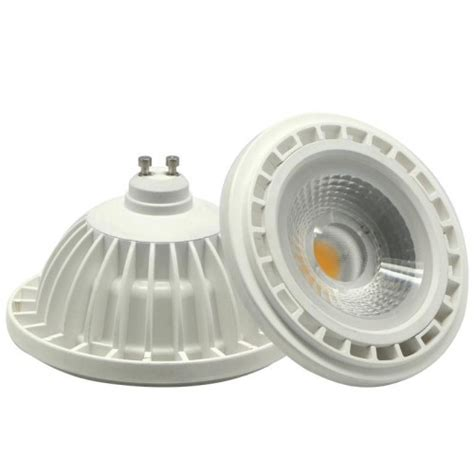 12w ar111 gu10 g53 base cob led reflector spot light bulb
