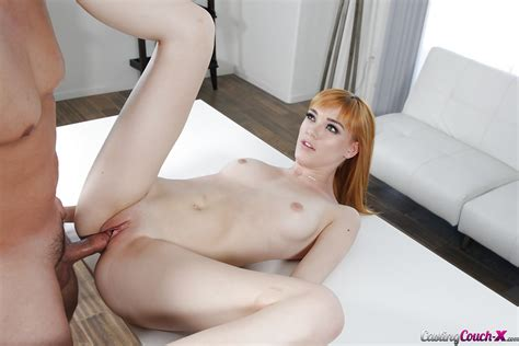 Redheaded Euro Teen Amateur Anny Aurora Receives Hardcore