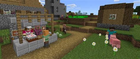Villager Trading Comes To Minecraft Windows 10 And Pocket