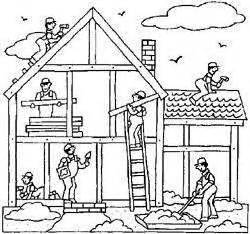 home construction clipart black and white free house construction cliparts free clip