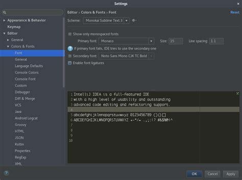 codingame idea editor for intellij idea jetbrains bad font rendering in editor in idea 2017 vs idea 2016