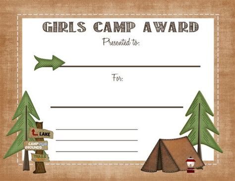 free printable camp award certificate otbm 307 | 2c88165dc61f74f6fe4a496c3c3fabb9
