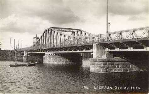 Liepāja vēstures līkločos: Dzelzsceļa tilts