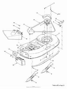 Mtd 13a3665g000  2003  Parts Diagram For Deck Assembly  U0026quot G U0026quot