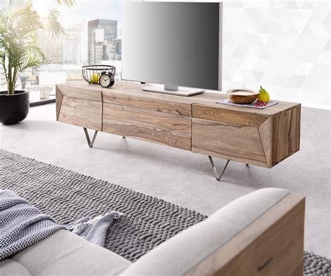Lowboard Design Möbel by Designer Lowboard Wyatt 175 Cm Sheesham Natur 2 T 252 Ren 1