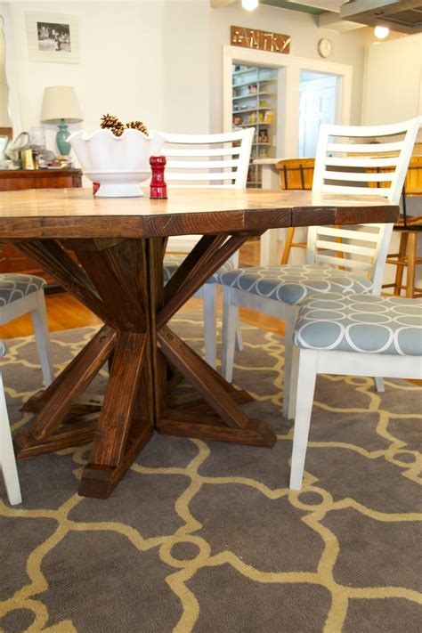 ck  nate header restoration hardware diy dining table