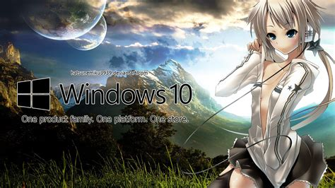 Windows Anime Wallpaper - windows 10 anime wallpaper by hatsunemiku3939 on deviantart