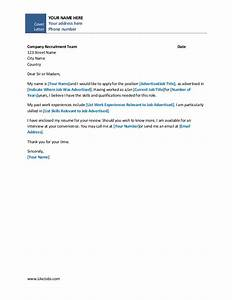 Simple cover letter template for Basic cover letter template free