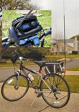 Amateur radio bicycle touring