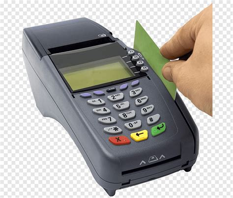 A debit will appear on your checking account and on your credit card statement online within 2 business days. Credit card Payment terminal Debit card, swipe PNG | PNGWave