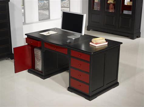 meuble bureau informatique superbe bureau ministre spécial informatique en merisier