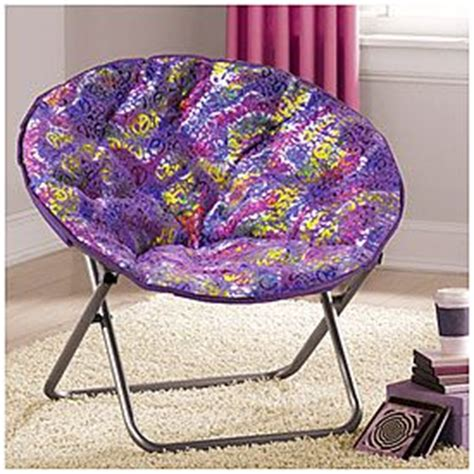 saucer chair purple peace at big lots furniture