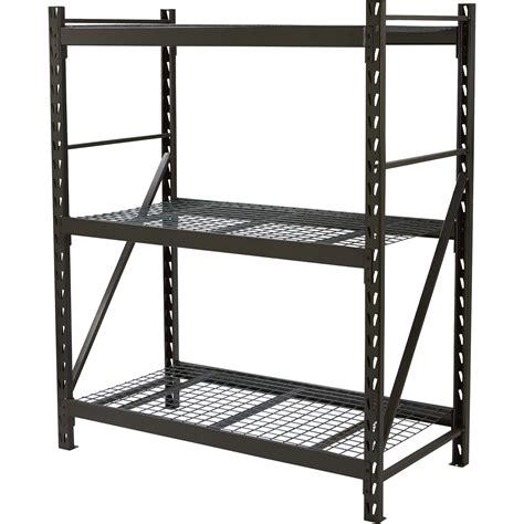 industrial storage racks strongway steel shelving 60in w x 30in d x 72in h 3