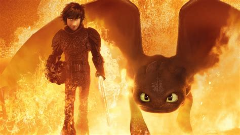 hiccup toothless   train  dragon