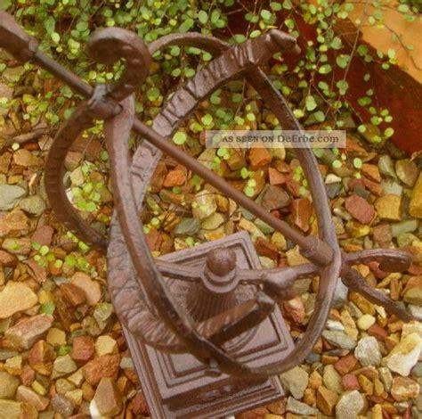 Gartendeko Nostalgie by Garten Sonnenuhr Mit Sockel Gusseisen Antik Nostalgie