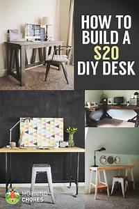 How, To, Build, A, Desk, For, 20, Bonus, 5, Cheap, Diy, Desk, Plans, U0026, Ideas