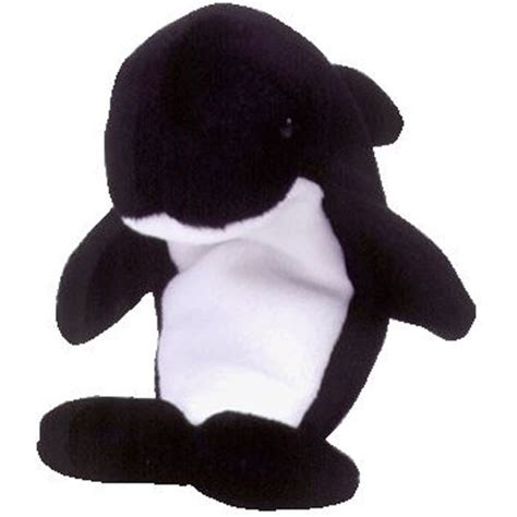 ty beanie baby waves  whale oddity  echo hang