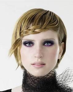 Tresse Cheveux Courts : tresse cheveux court ~ Melissatoandfro.com Idées de Décoration