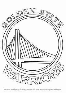 Learn How to Draw Golden State Warriors Logo (NBA) Step by ...