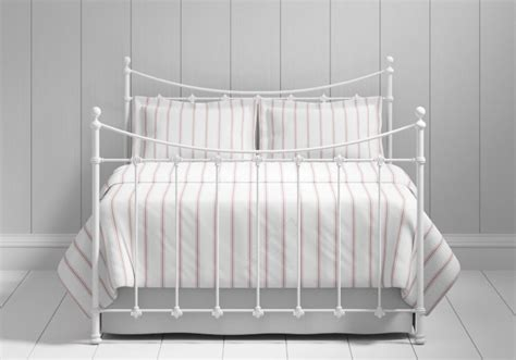 504 white metal bed frame chatsworth iron metal bed frame the original bedstead