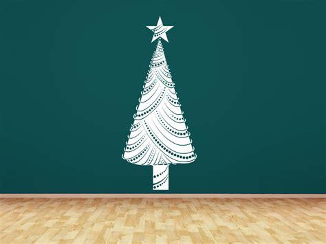 wandtattoo moderner weihnachtsbaum auf wandtattoo com