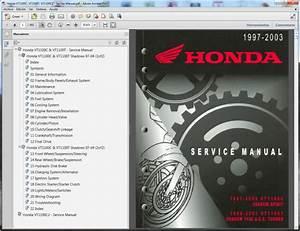Honda Vt1100c  Vt1100t  Vt1100c2 - Service Manual