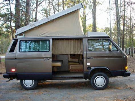 volkswagen vanagon 1985 vw vanagon westfalia weekender automatic 4 500