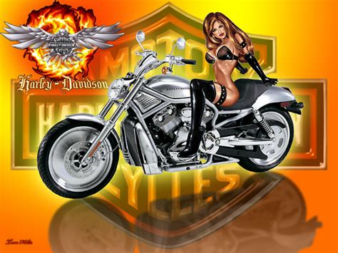 Thank U Wallpaper Harley Davidson
